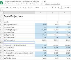 Projectionhub Google Spreadsheet Integration Projectionhub