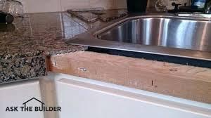 bullnose granite tiles for countertops tile countertop edging drip edge tile on a kitchen countertop tile