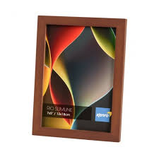 home picture frames browse by size 10x12 25x30cm rio slimline dark oak crafted wood picture frame in solid rubber wood wood stain finish