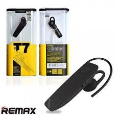 Black, <b>White REMAX T7 Bluetooth</b> Headset, Rs 380 /piece, Kashvi ...
