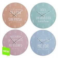High Quality Reloj De Pared Diseño Original Frases Divetido 4/m Madera