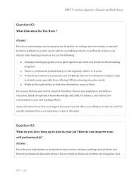 Interview Question Examples Group Interview Activities Retail