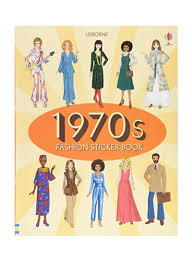 Fashion Design Courses In Abu Dhabi Shop 1970s Fashion Sticker Book Paperback Online In Dubai Abu Dhabi And All Uae