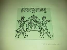 glass painting outline