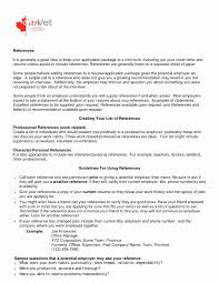 Resume References Template 100 References List Example Designer