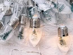 Christmas Lights That Look Like Light Bulbs Target Sells Holiday String Lights That Look Like Mini Snow
