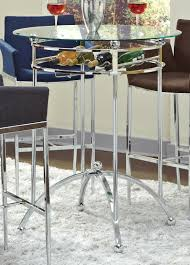 coaster fine furniture 120335 modern bar height table with glass top and a on tables 1200x1675px