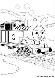 Free Printable Thomas The Train Coloring Pages Free Printable