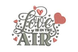 Love Is In The Air Creative Fabrica
