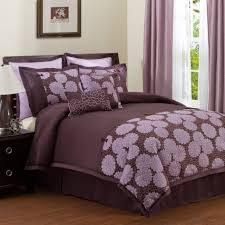 Plum Bedroom Bedroom Romantic Purple Master Bedroom Ideas With Double Bed For