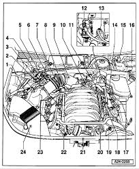 I am trying to locate the engine coolant temp sensor for an audi a6 if you have any more questions or need any more diagrams please don't hesisitate to ask