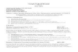 Federal Government Resume Examples Stunning Resume Format Usa Jobs