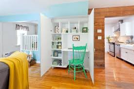 in home office. Magnificent Desk In Home Office Eclectic With Built Next To Contemporary Armoire Wardrobe