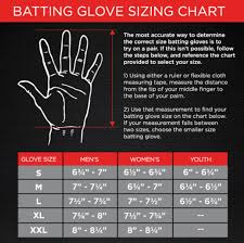 Batting Glove Size Chart Franklin Youth Batting Gloves Size Chart Half Off 43480f6e71e