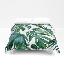 palm duvet cover. Brilliant Palm Classic Palm Leaves Tropical Jungle Green Duvet Cover To