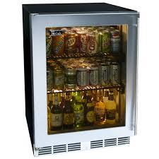 perlick stainless steel outdoor refrigerator with glass door 24 woodlanddirect com