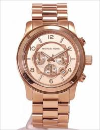 michael kors mk8096 rose coolwatch31 michael kors mk8096 runway oversized rose gold tone chrono mens watch mk8096