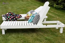 favorite wood chaise lounges ana white