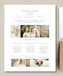 Wedding Photography Price List Template Pricing Guide