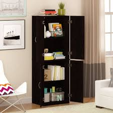 Living Room Shelves And Cabinets Mainstays Storage Cabinet Multiple Finishes Walmartcom