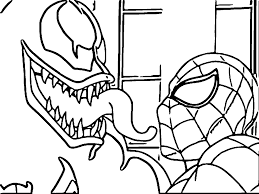 Small Picture Venom Coloring Pages Wecoloringpage