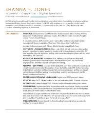 News Reporter Resume Sample Tv Editor Journalist Samples Visualcv