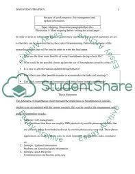 Essay About Invention Invention Strategy And Mind Mapping For Expository Essays Essay