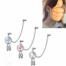 Dream Catcher Helix Earring Shop Dangle Helix Earrings on Wanelo 47