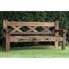 rustic wooden outdoor furniture. ➤Rustic Outdoor Bench 8 Benches By Www.boutiquehotelfurniture.co.uk Rustic Wooden Furniture D