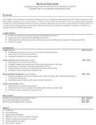 Sample Resume For Business Owner Targeted Resume Samples Business