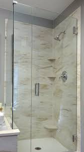 Seamless shower walls Bathroom Seamless Shower Wall Panels Fbchebercom Countertops By Olive Mill Applications Shower And Tub Surrounds