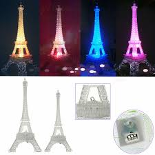 new arrival romantic eiffel tower led night light desk baby table lamp wedding bedroom decorate child gift lights lamp high quality lamp table l