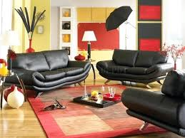 red living room decor living room red