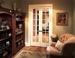 french doors with stained glass interior lite contemporary living room orange county