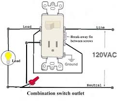 how to wire a light switch and outlet Outlet Wiring Design DIY Electrical Outlet Wiring