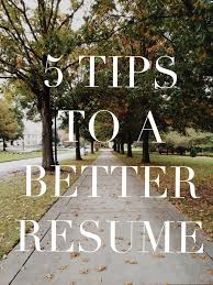 5 Tips To A Better Resume Black Floppy Hat