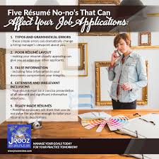 Resume No Nos IELTS Review Center in Cebu Five Résumé Nono's That Can Affect 10