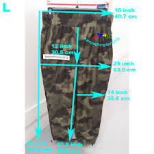 Details About Hollister Womens Ultra High Rise Wind Pants Camo Size Large