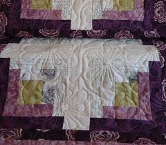 Free Motion Quilting Designs For Log Cabin Log Cabin Quilt Lucie The Happy Quilters Blog