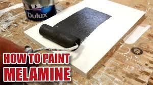 How Do You Paint Melamine Youtube