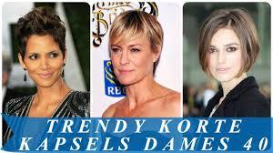 Trendy Korte Kapsels Dames 40