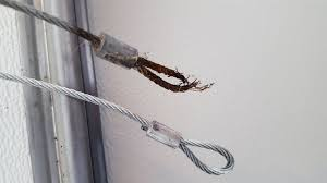 if you find any of these conditions present or if your cable has already broken give us a call to handle you garage door cable repair and we will have you