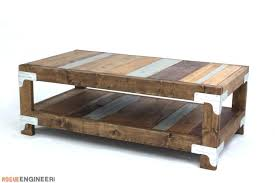 industrial style coffee table coffee table industrial coffee table plans rogue engineer industrial coffee table