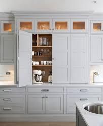 cabinet door design. Grey In The Kitchen: No. 8 \u2013 Greige Design. Large Doors Open Up Cabinet Door Design