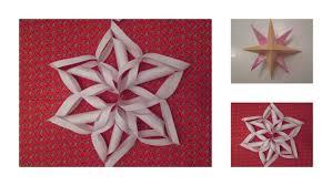 Diy Schneeflocke Weihnachtsstern Aus Papier By Isi Made