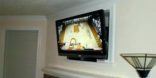 mounting flat screen above fireplace install tv