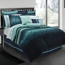 teal queen comforter. Lawrence Blue Moon Queen Comforter Set By Bedding Collections : The Home Decorating Company Teal