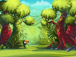 jungle wallpaper for kids. Simple For Cartoon JungleKidsu0027 StuffEazywallz To Jungle Wallpaper For Kids