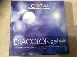 Diacolor Chart Details About Loreal Diacolor Gelee Shade Chart Inc Hair Swatches Advice