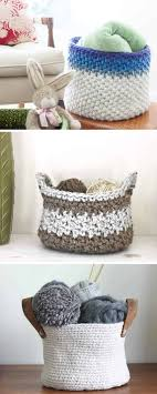 Free Crochet Basket Patterns Gorgeous 48 Free Crochet Basket Patterns How To Crochet A Basket Tutorials